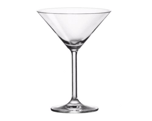 Ein Glas für Cocktails