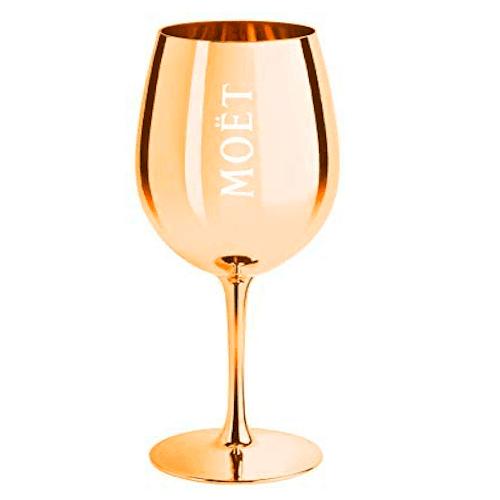Ein Glas für Schaumwein von Moet