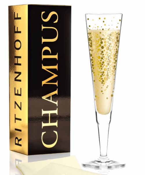 Ein Ritenhofglas für Champagner
