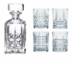 5 Teiler aus Kristall