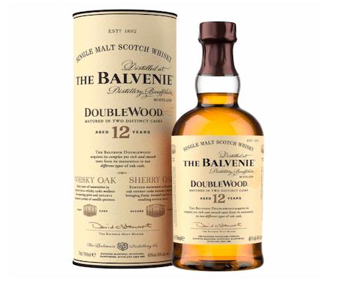 Ein Flasche der Marke Balvenie