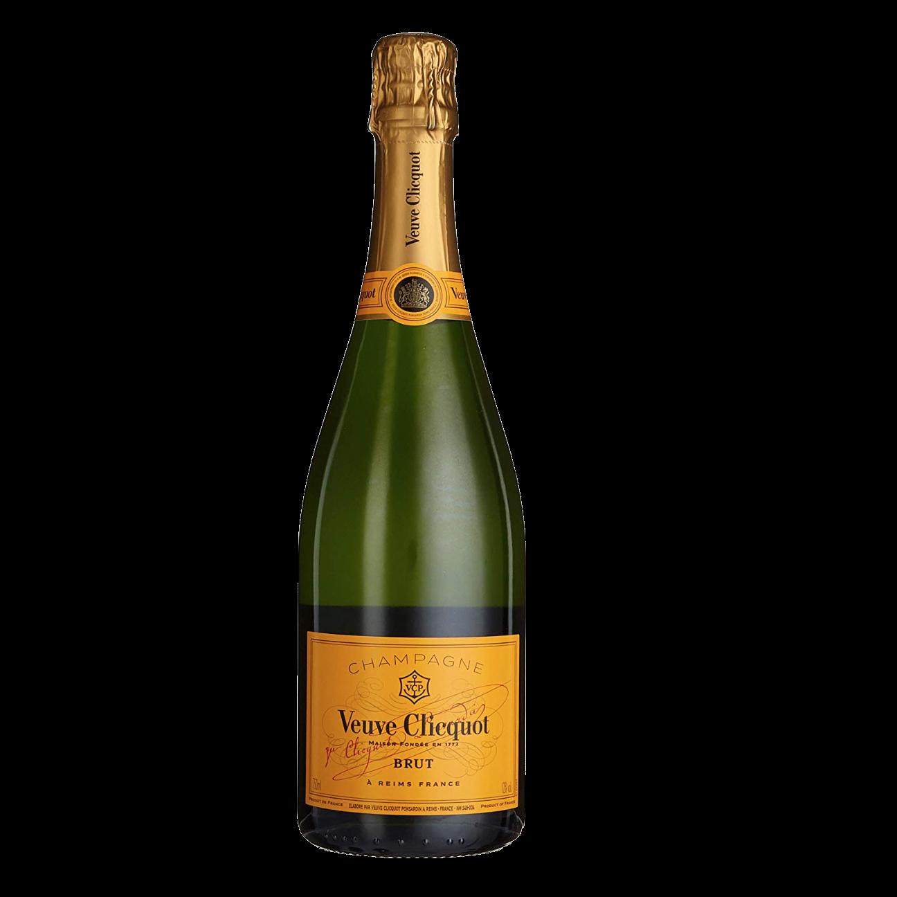 Veuve Champagner Flasche