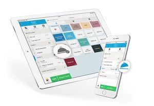 Ipad und Handy Tischplan