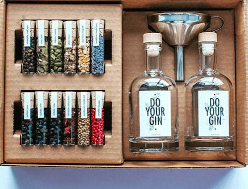 Gewürze für die Zubereitung von Gin